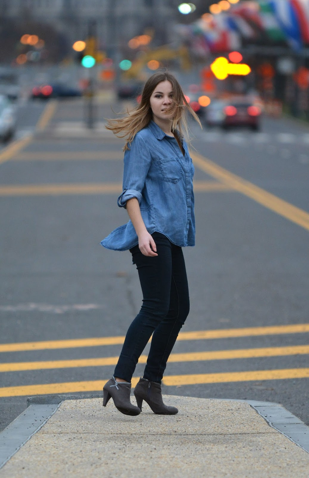 all denim spring style