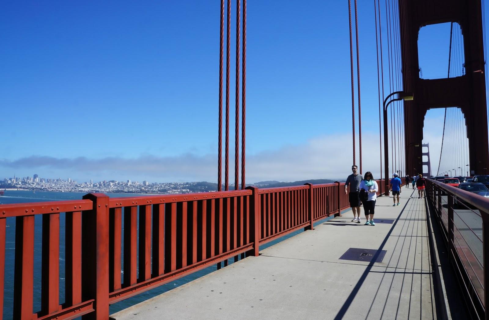 Golden Gate walk