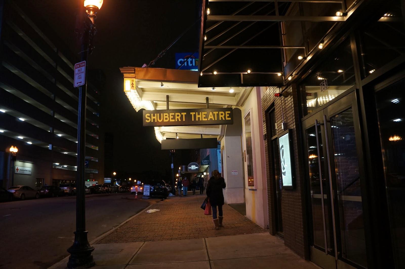 Shubert Theatre in Boston