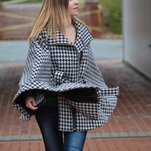 houndstooth-pattern-cape-jacket