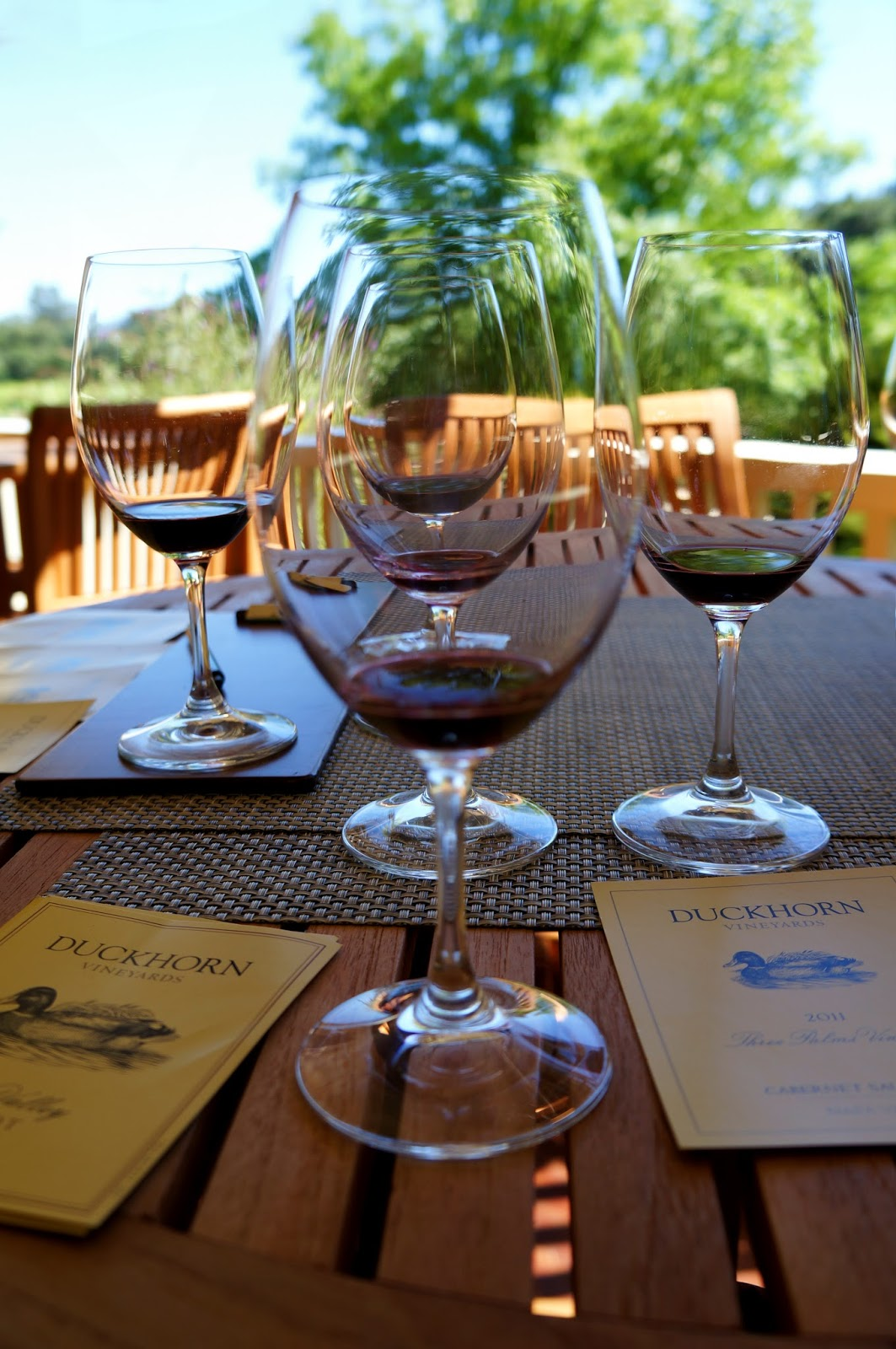 Duckhorn Vineyards wine tasting experience