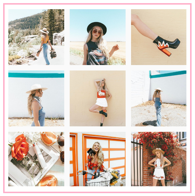 6 Pro Tips For Planning Your Flawless Instagram Feed From My Favorite Influencers