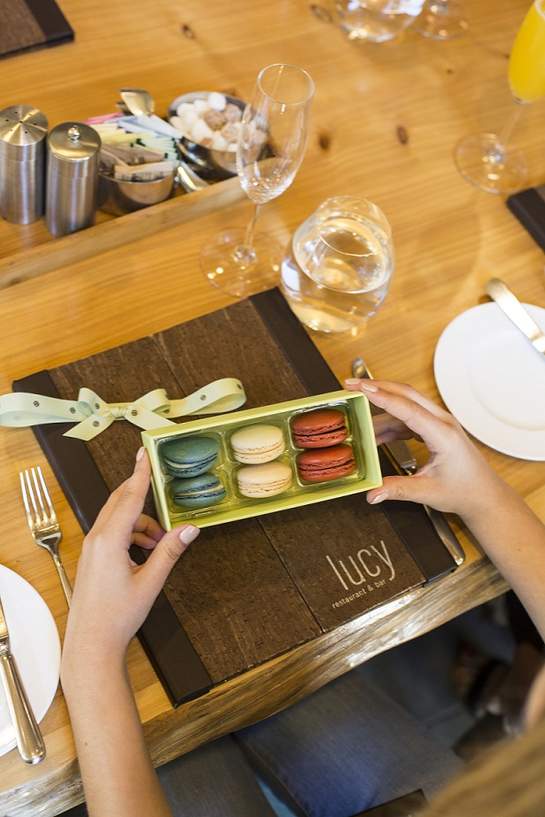 Bouchon Bakery macaroons in Yountville Napa blogger