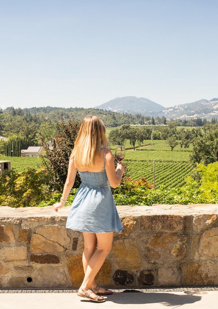 Napa blogger Trinchero Winery