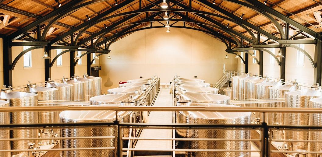 Trinchero wine tanks winery Napa Valley