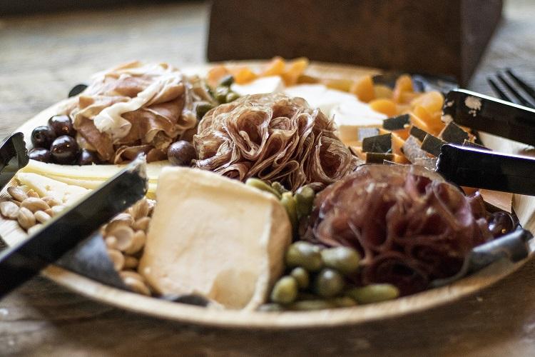 cheese plate JCB Napa Valley