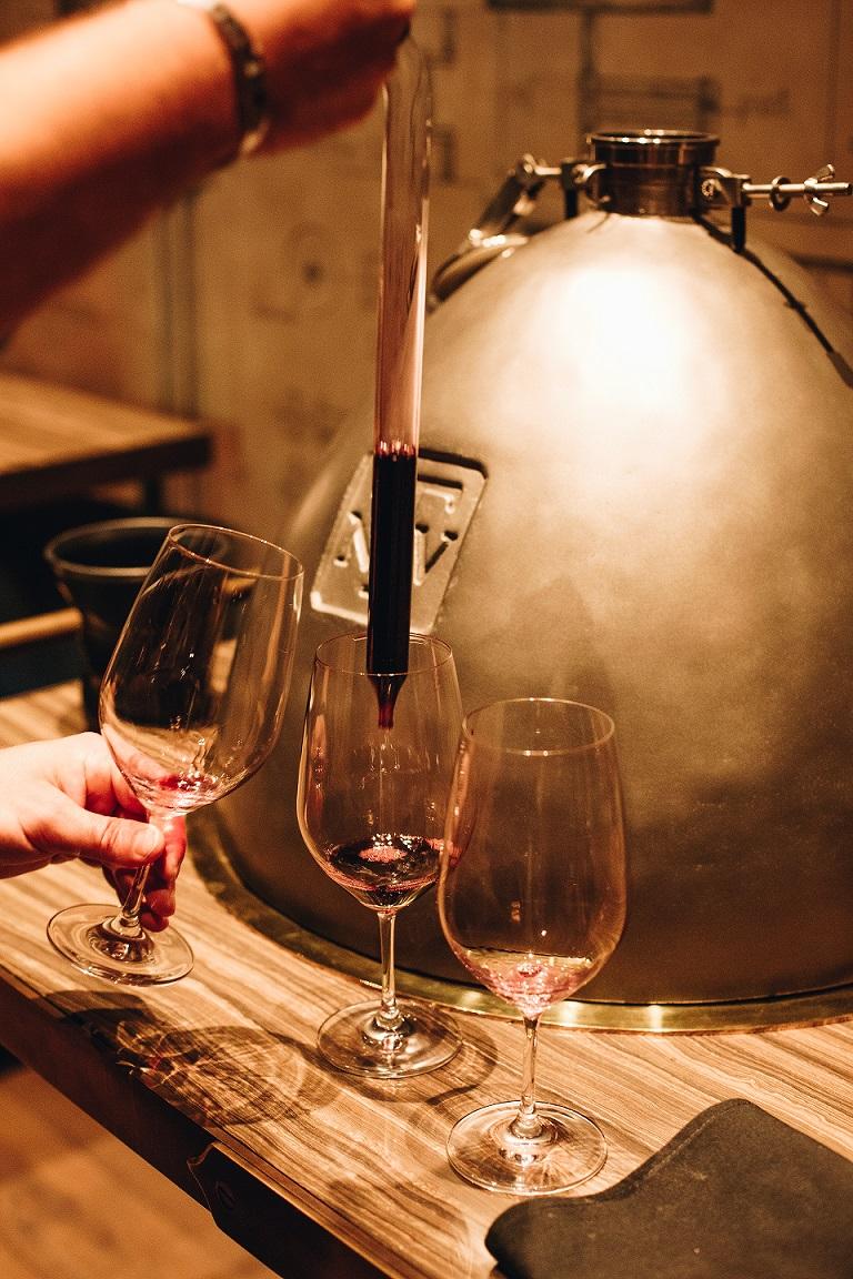 wine tasting Trinchero Family Estates