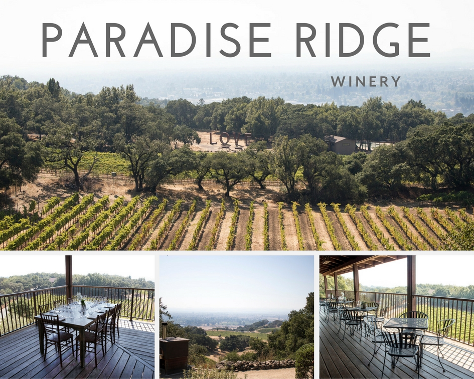 Paradise Ridge Winery - must see places in Santa Rosa