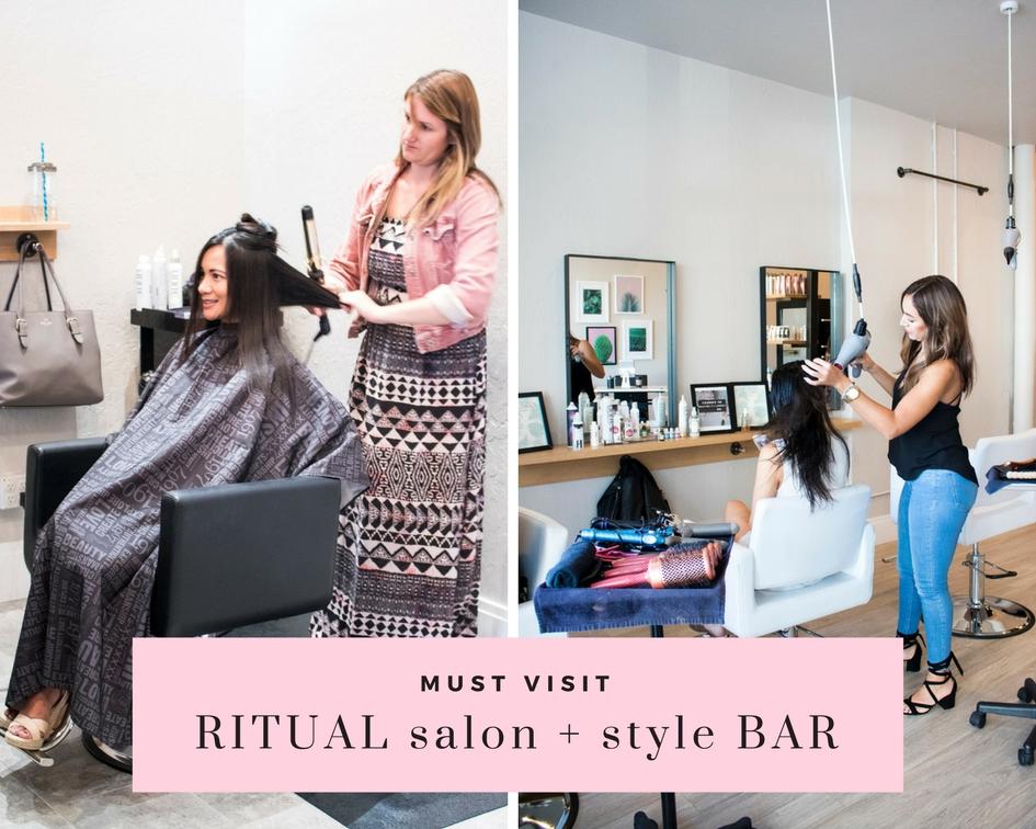 Ritual salon and style bar Santa Rosa blowout