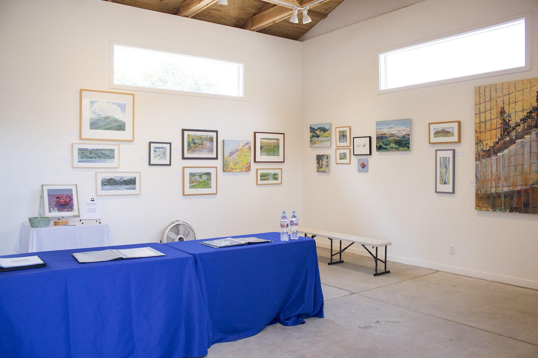 art gallery at Paradise Ridge in Santa Rosa