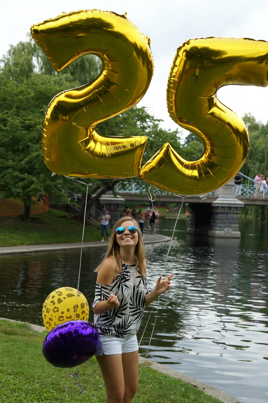 25th birthday shoot at Boston Common