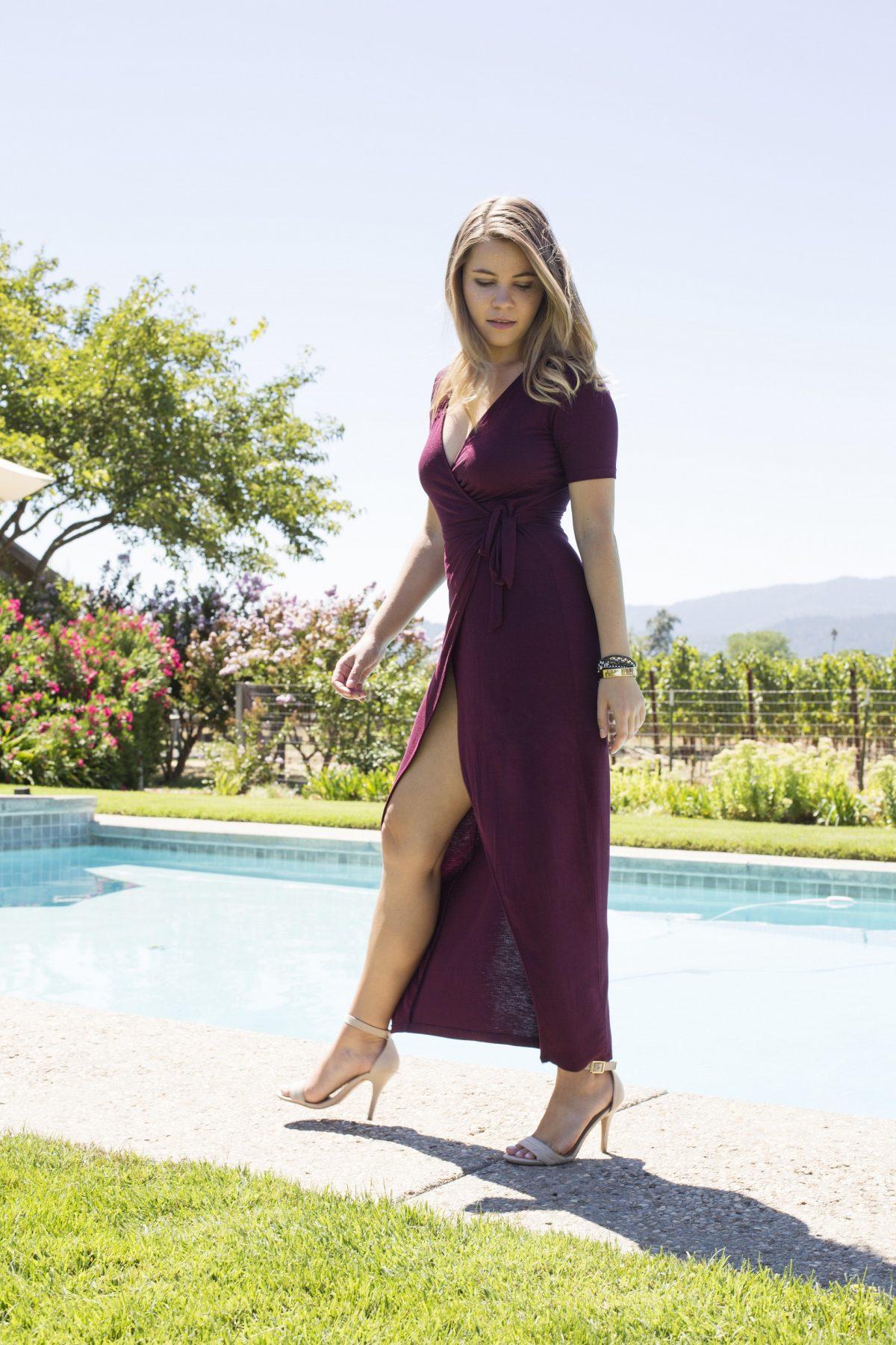burgundy-forever-21-dress