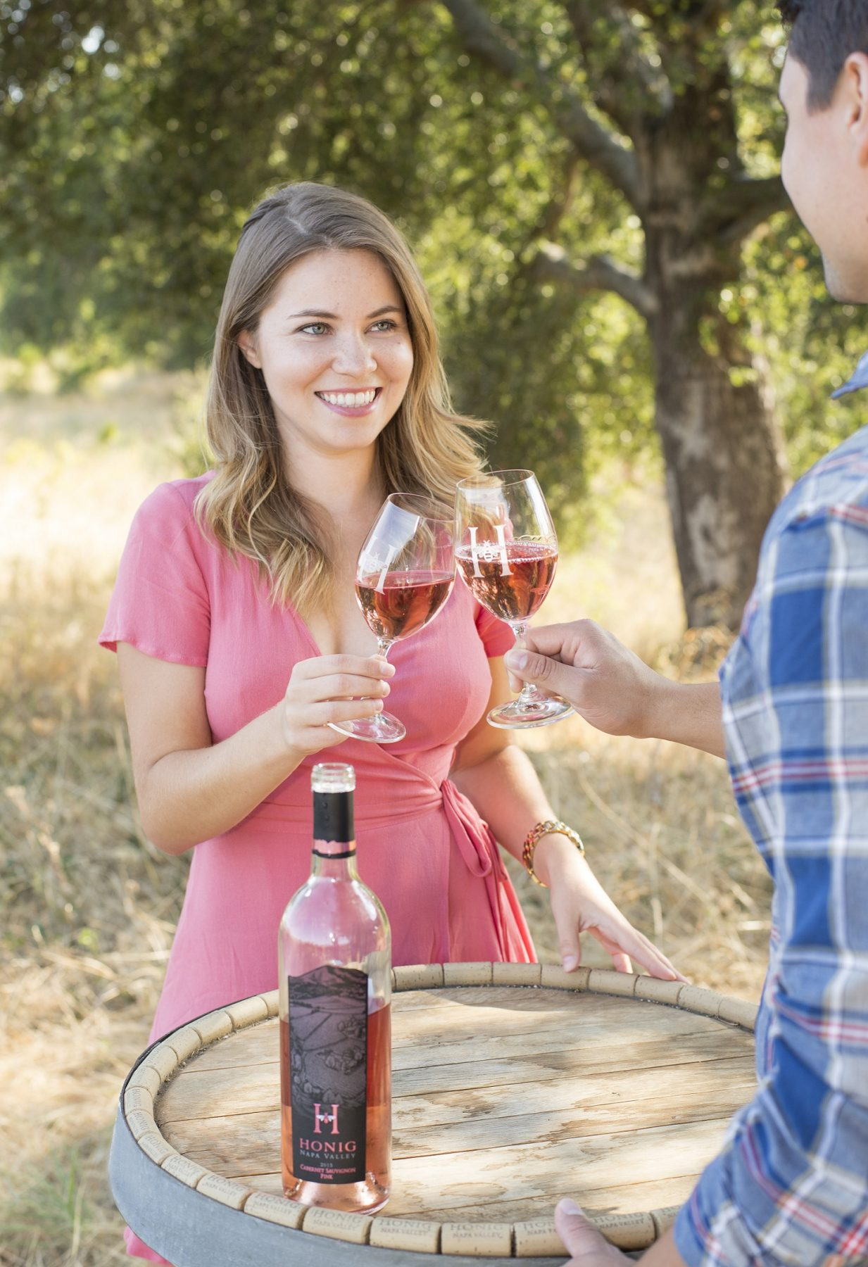Valentine's Day date idea wine tasting