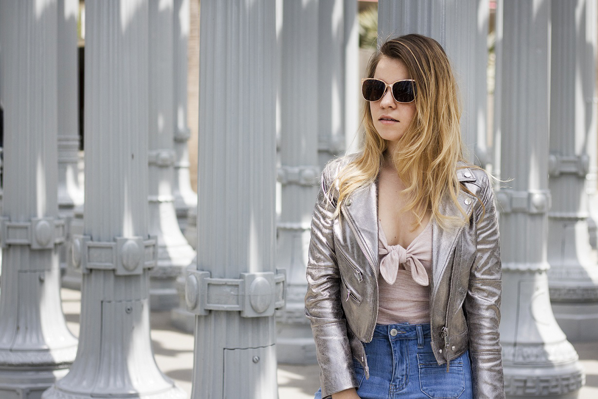 How To Wear Metallic This Spring Style Tips from Shenska