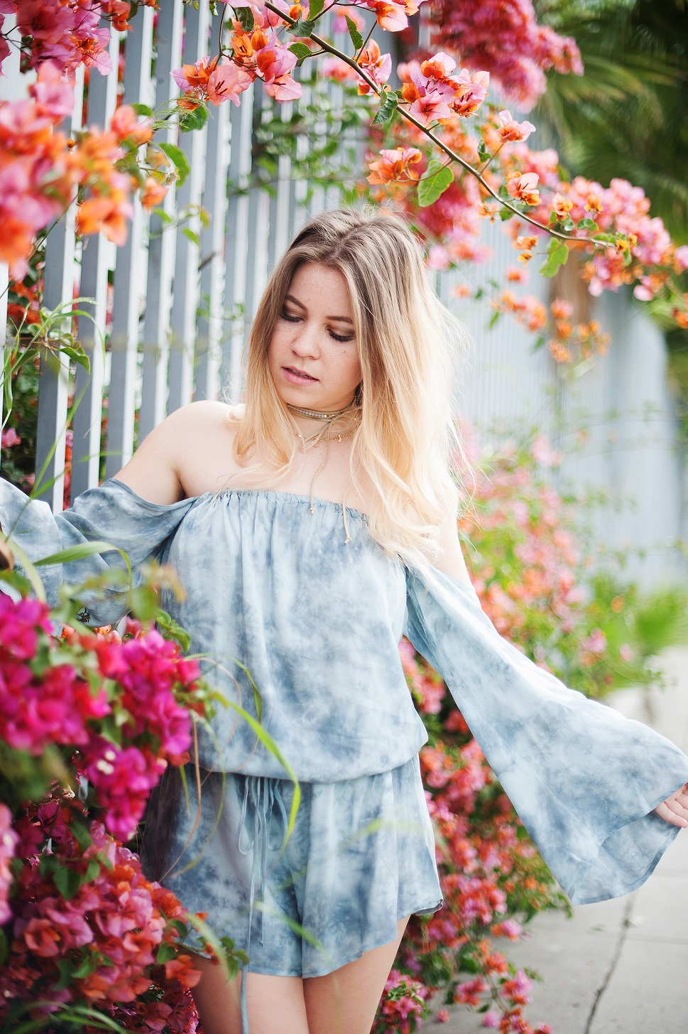 Shenska blogger Blue Life romper
