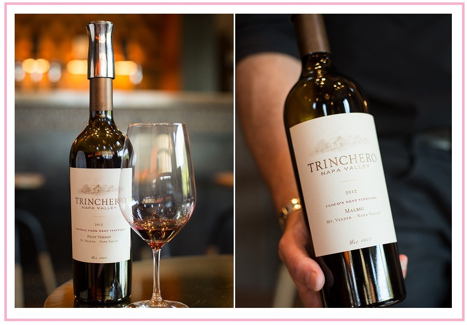 Trinchero Winery red wines Napa blogger