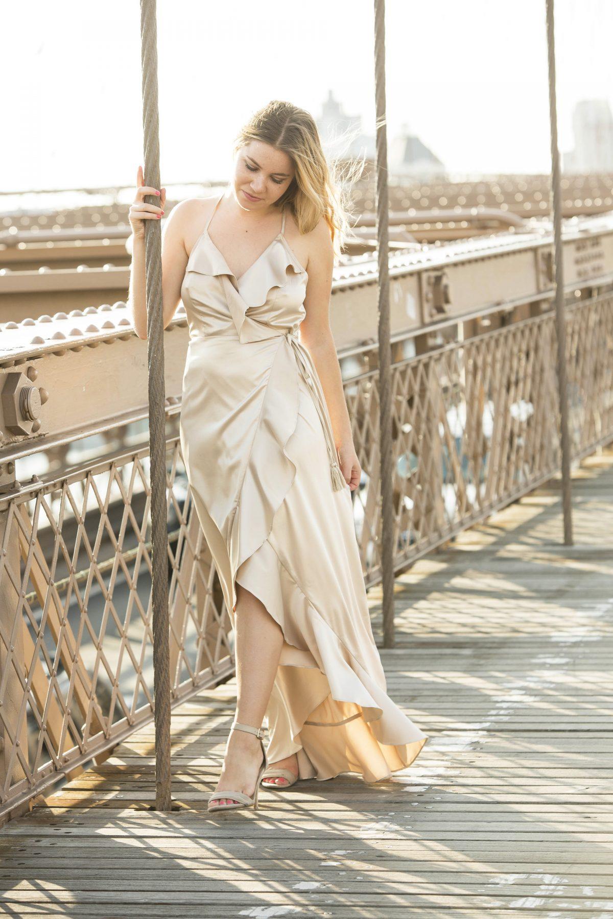Brooklyn Bridge romantic photo shoot