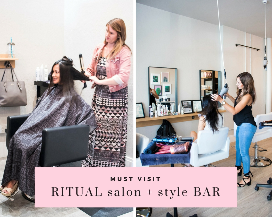 Ritual salon and style bar Santa Rosa blowout