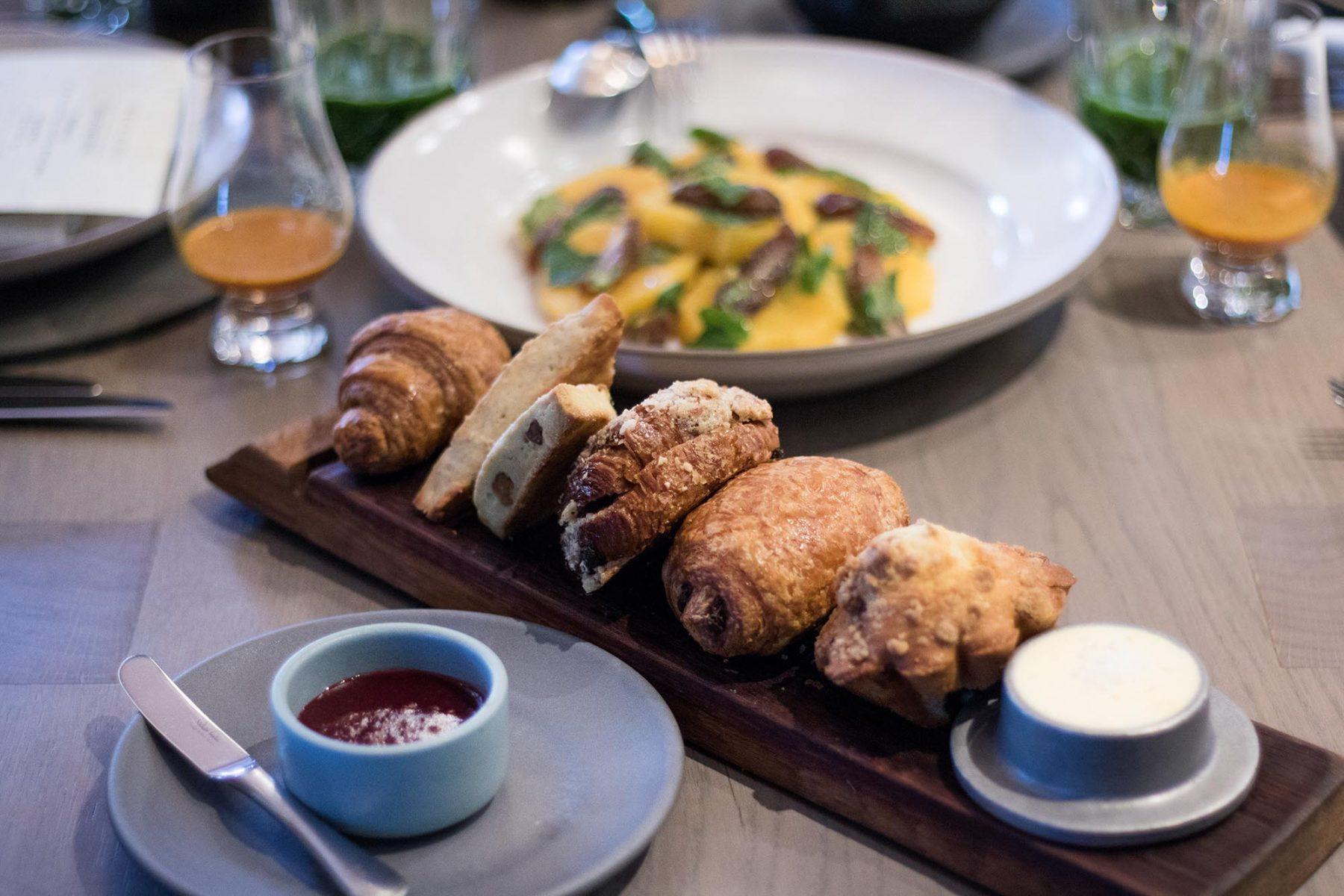 Acacia House Chris Cosentino breakfast menu