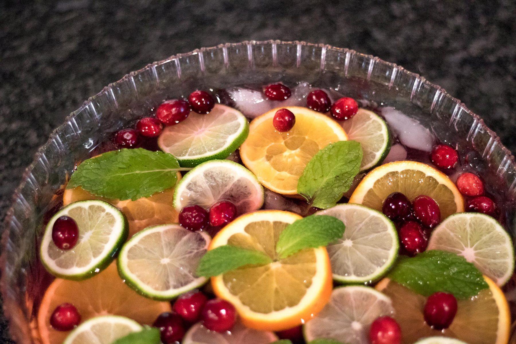Voveti prosecco winter punch recipe