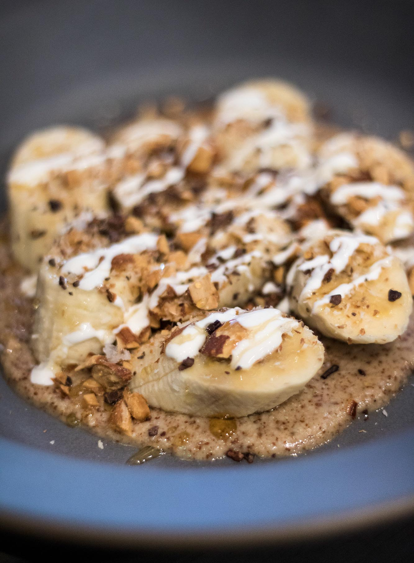bananas and almond butter Acacia House brunch