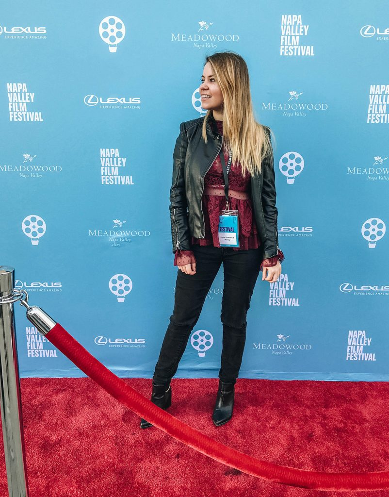 Napa-Valley-Film-Festival-red-carpet-Shenska blogger