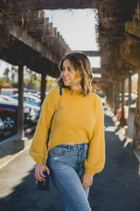 yellow-mohair-sweater-spring-style