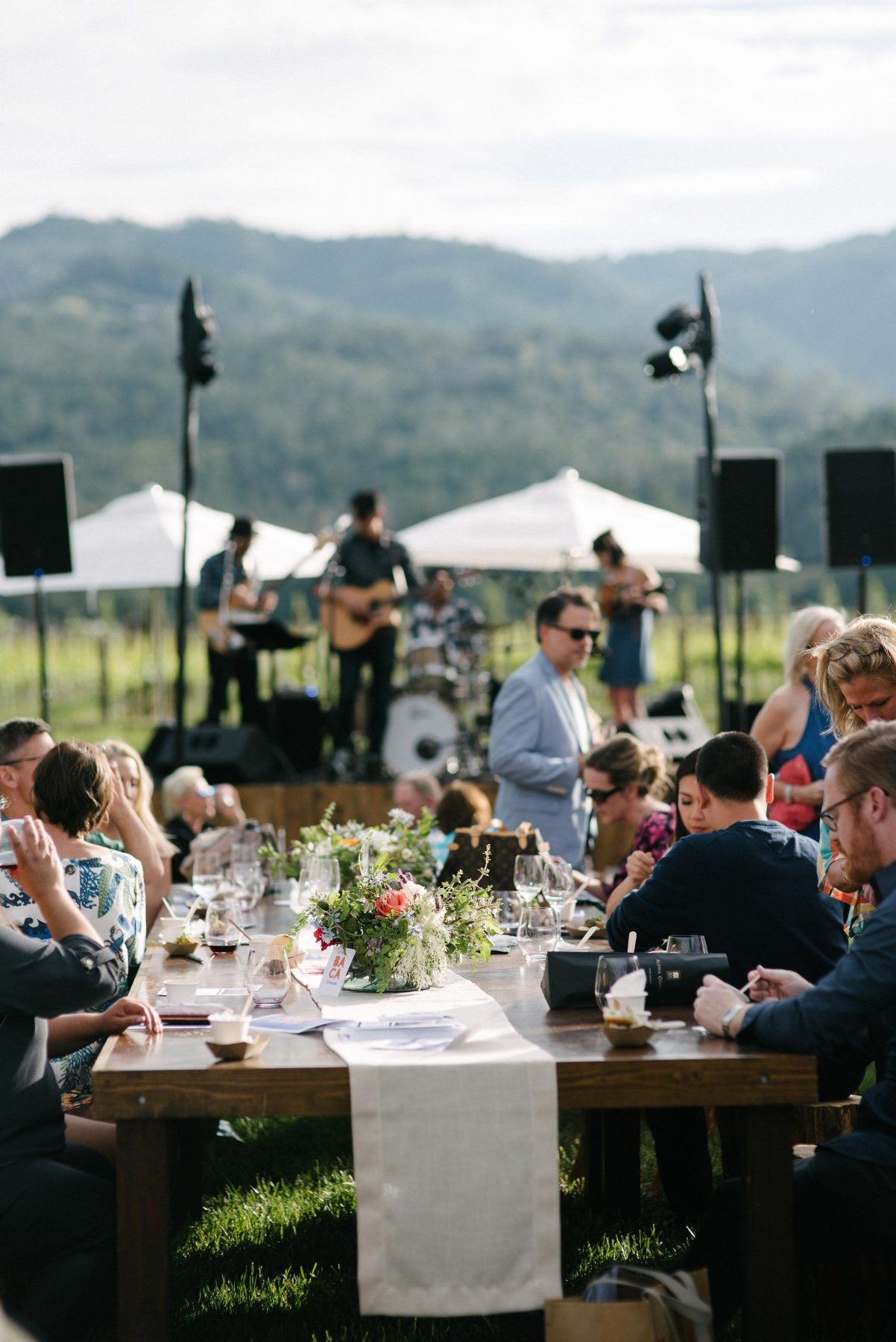 BACA Wines Launch Event Napa Valley
