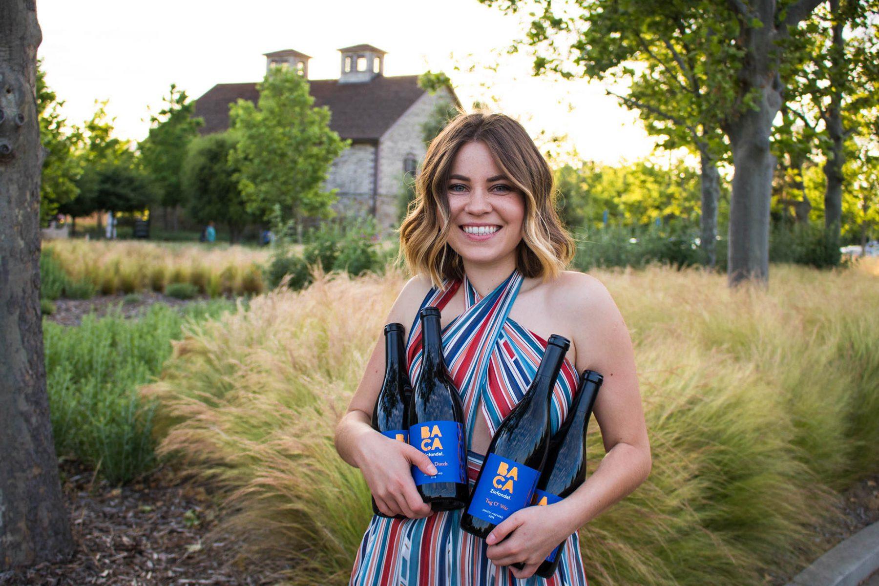 BACA Wines Release Party Zinfandel Napa Valley