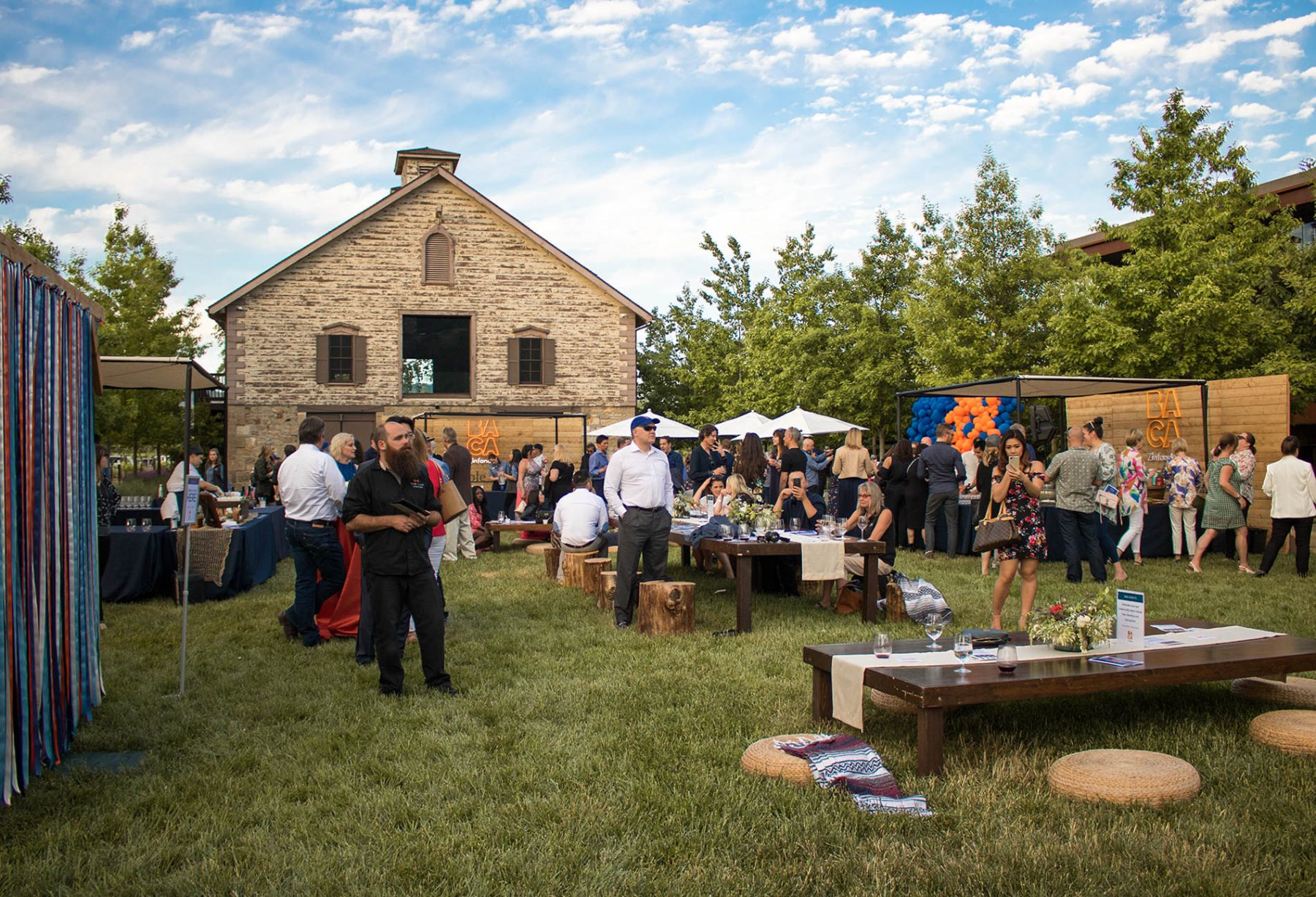 BACA Wines Release Party in Napa Valley