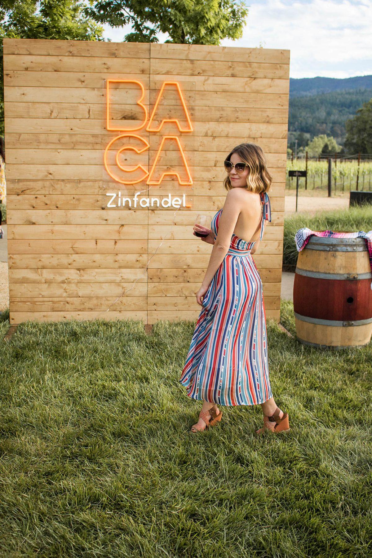 BACA Wines Zinfandel tasting