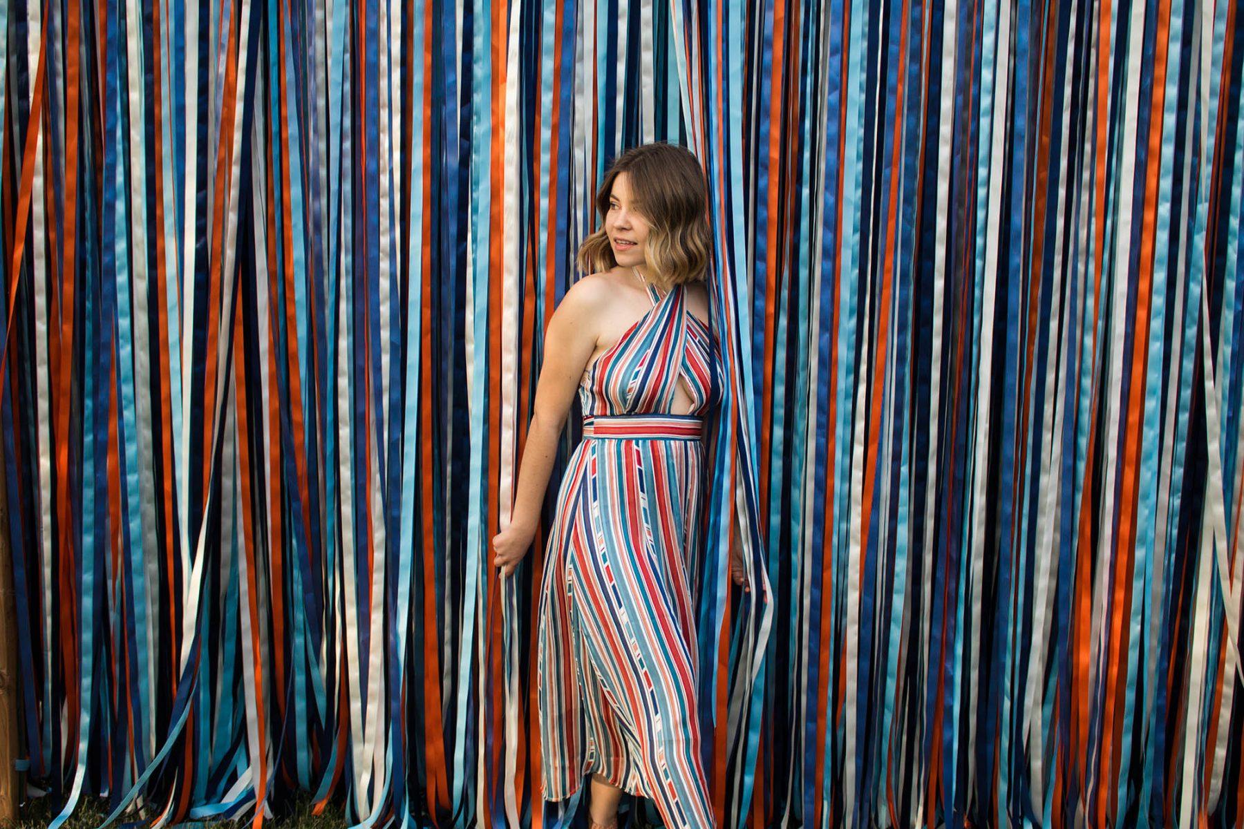 halter dress for summer ASTR the Label petite fashion