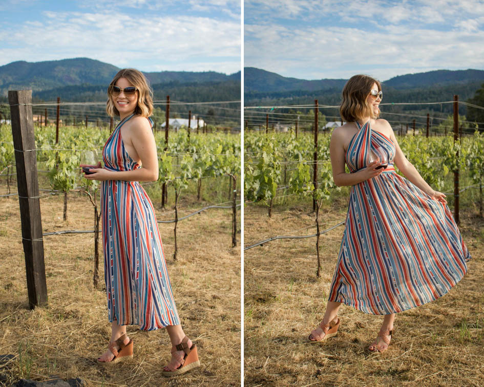 what to wear to wine tasting in Napa Valley