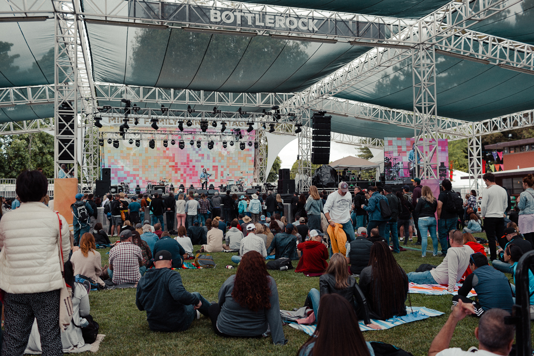 BottleRock music lounge