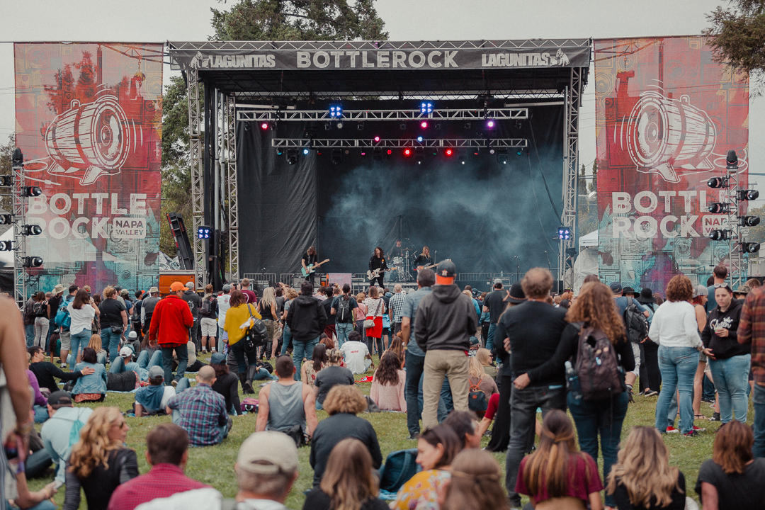 BottleRock music stages