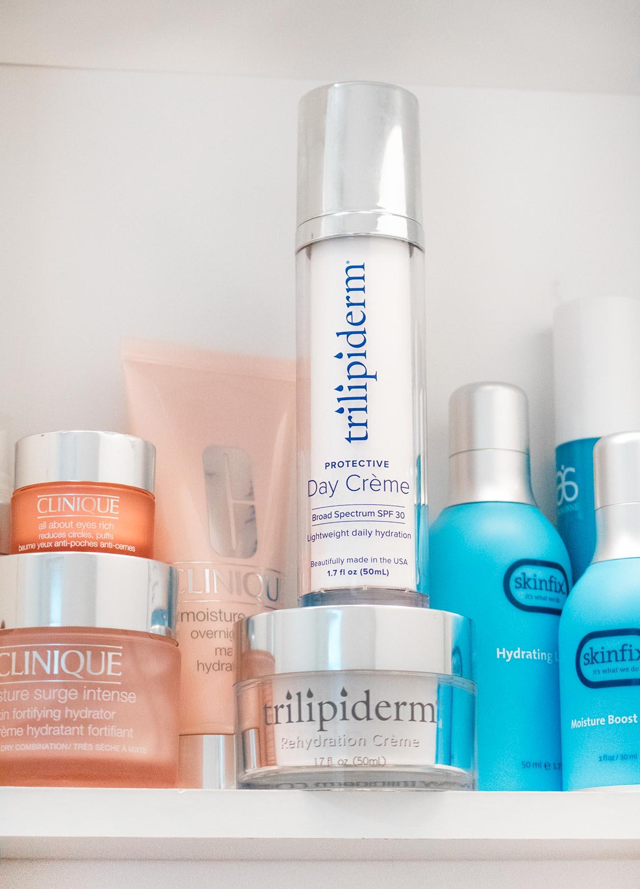 Trilipiderm skincare products