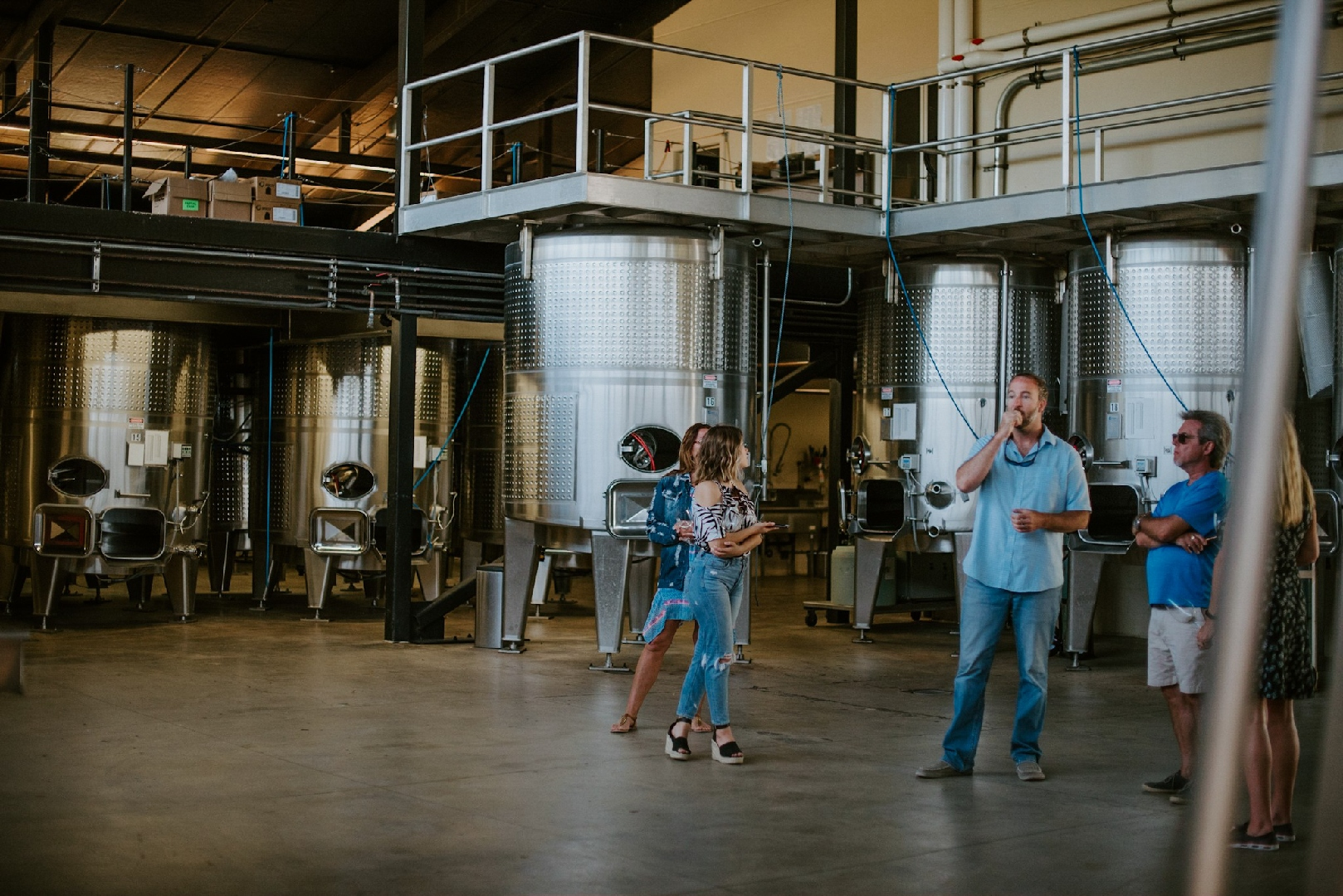 Medlock Ames winery visit