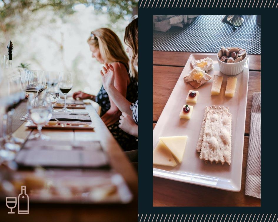 wine tasting food pairing Medlock Ames