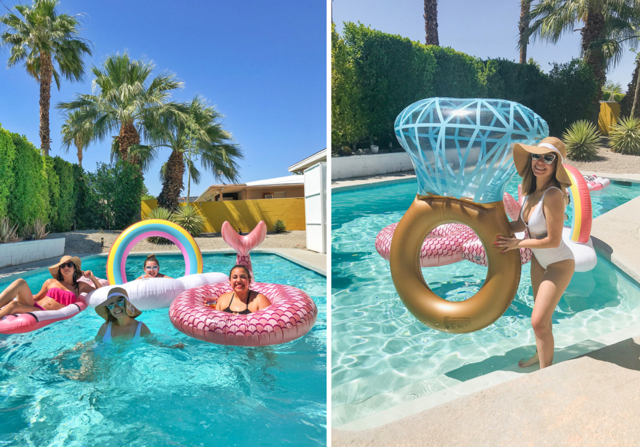 Palm Springs Bachelorette Pool Party