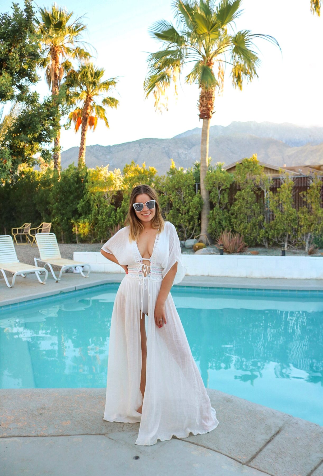 Palm Springs Bachelorette swim coverup