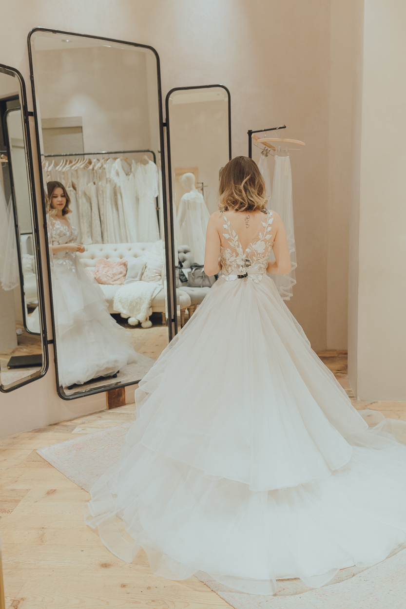 BHLDN bride Wtoo by Watters Valera Gown