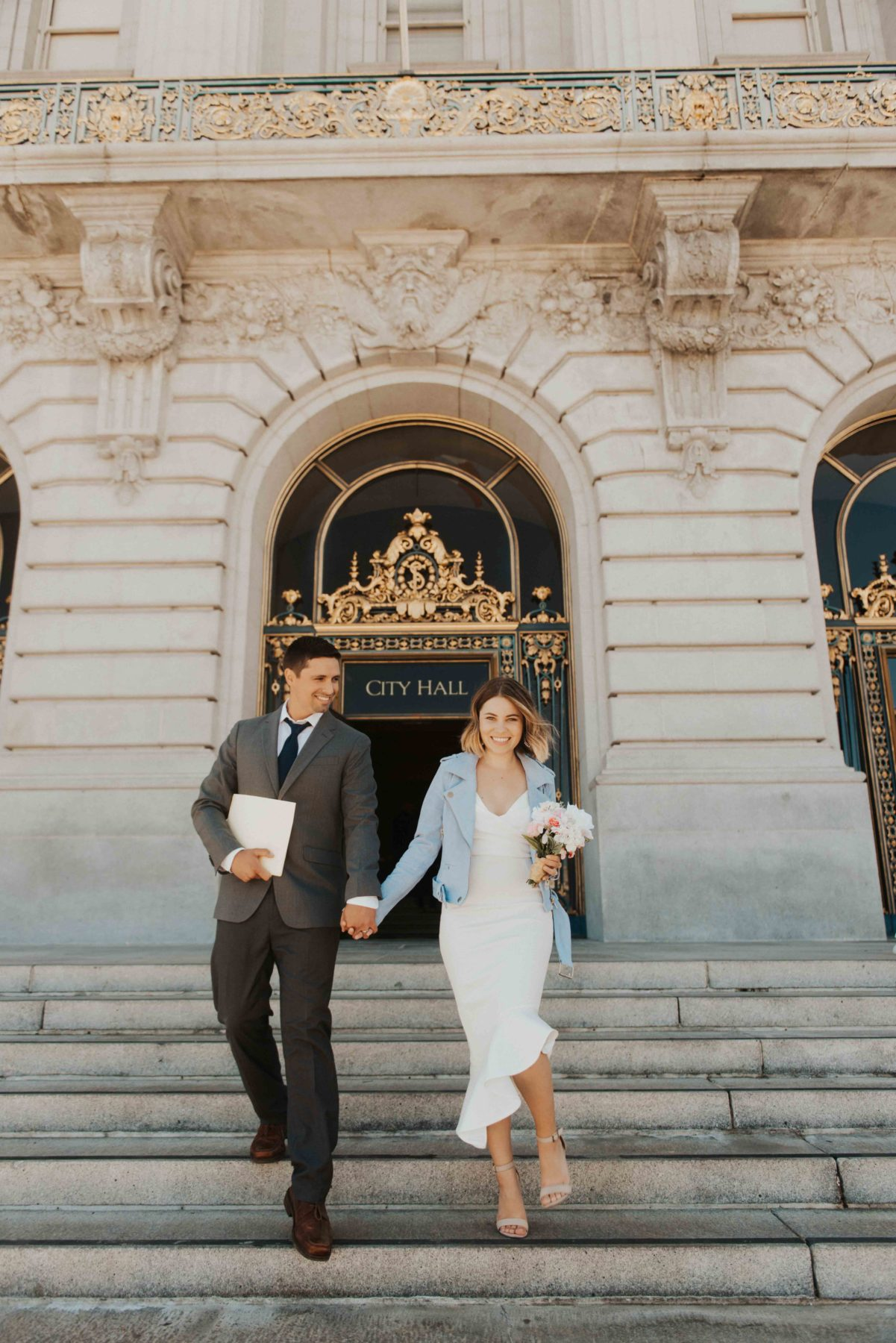 getting married at SF City Hall