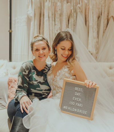 I said yes to the dress at BHLDN